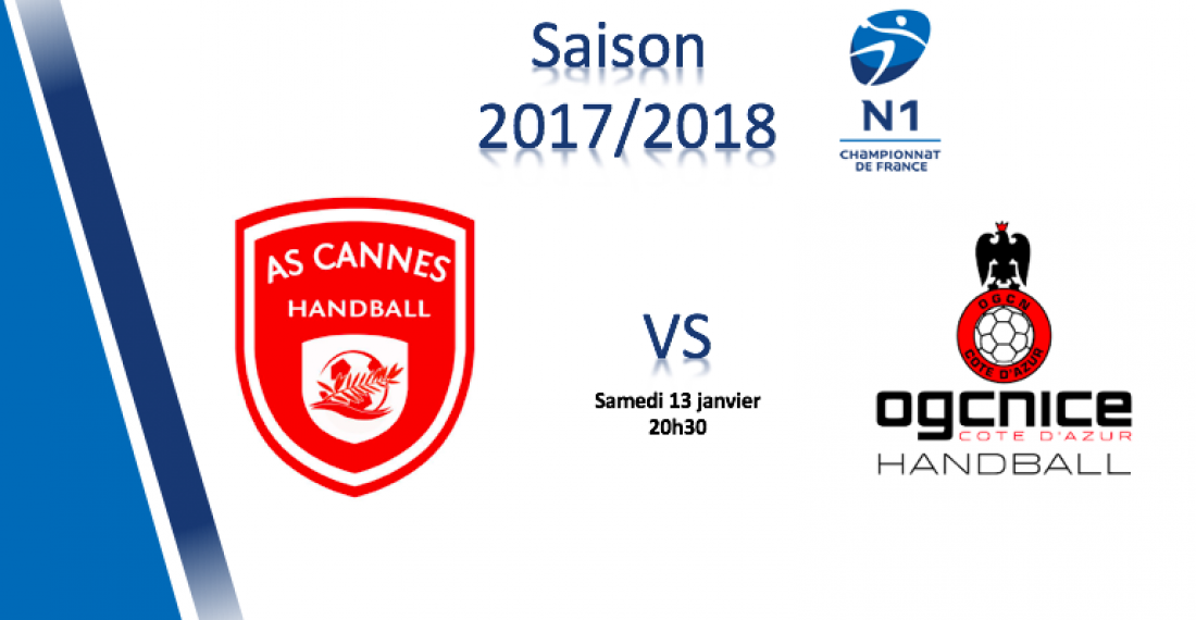 N1 – J9 : AS Cannes – OGC Nice