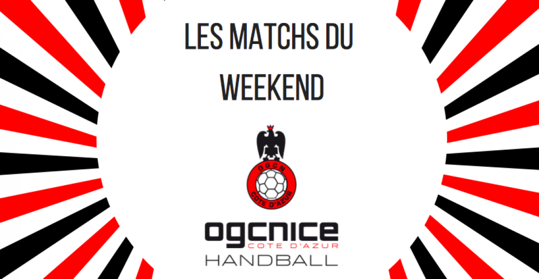 Matchs weekend 13 & 14 octobre !