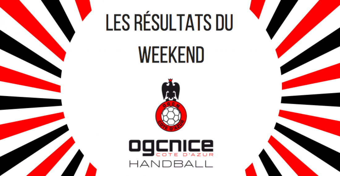 Résultats weekend 30 & 31 mars !