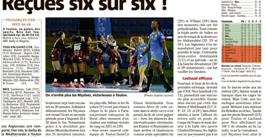 Nice gagne le derby