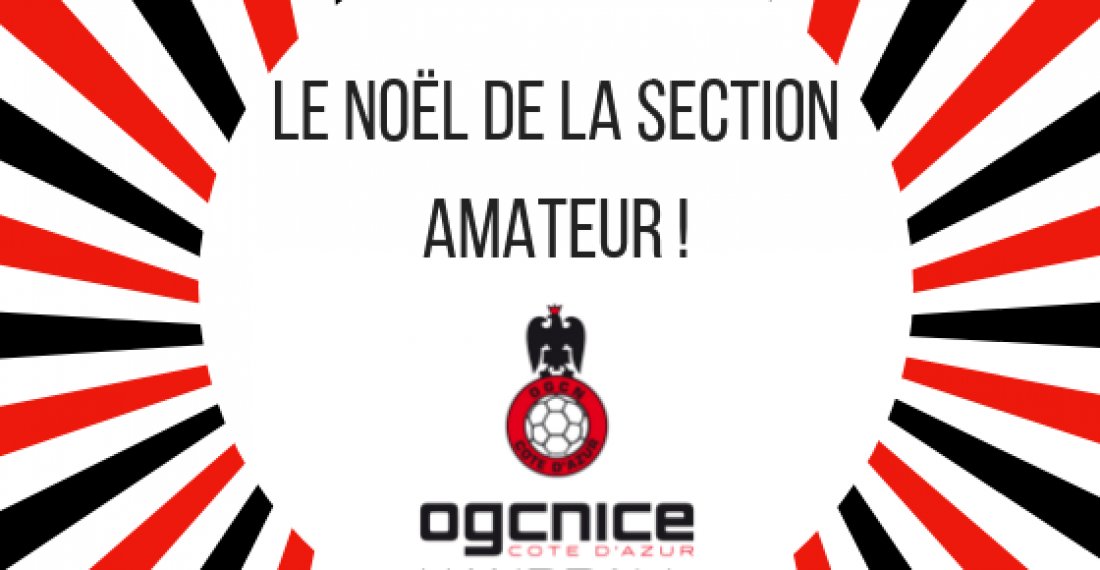 Le noël de la section amateur !